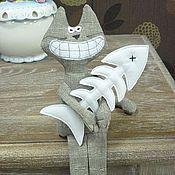 Куклы и игрушки ручной работы. Ярмарка Мастеров - ручная работа Кот-обормот. Handmade.