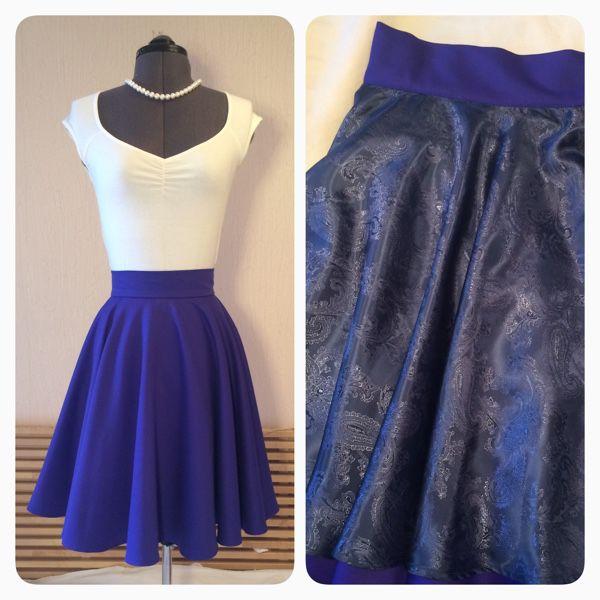 Одежда из ткани для юбки