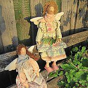 Куклы и игрушки ручной работы. Ярмарка Мастеров - ручная работа Феечки в стиле  бохо. Handmade.