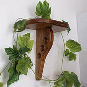 Для дома и интерьера handmade. Livemaster - original item shelf,shelf,wall shelf,flowers. Handmade.