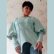 Одежда handmade. Livemaster - original item Sweatshirt with imitation of a corset. Handmade.