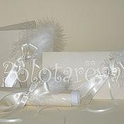 Свадебный салон ручной работы. Ярмарка Мастеров - ручная работа Свадебные приглашения с пером. Handmade.