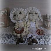 Куклы и игрушки handmade. Livemaster - original item LITTLE HELPERS. Primed jointed dolls.. Handmade.