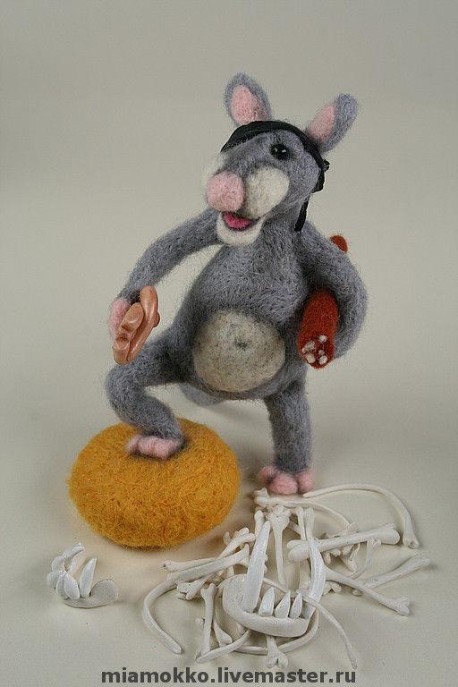 Игрушки животные, ручной работы. Ярмарка Мастеров - ручная работа. Купить И у мышей есть свои Кутузовы и Наполеоны..... Handmade.