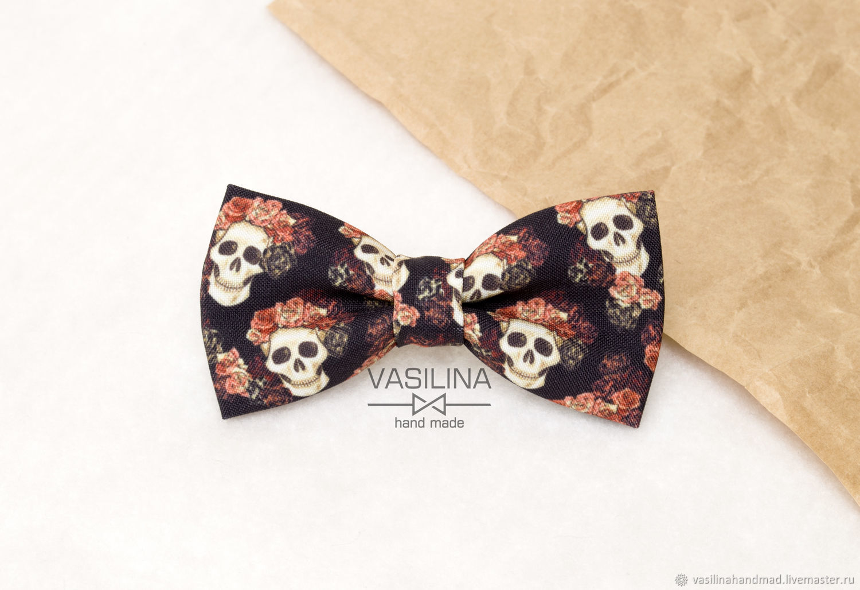 Skulls, bow Tie with skulls, Ties, Rostov-on-Don,  Фото №1