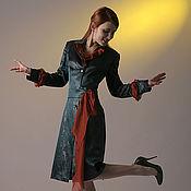 """Одежда ручной работы. Ярмарка Мастеров - ручная работа Нарядный плащ """"Волшебный узор"""". Handmade."""