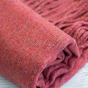 Аксессуары handmade. Livemaster - original item Coral wool stole with the addition of Angora