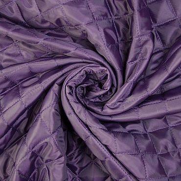 Materials for creativity handmade. Livemaster - original item Fabric: Itlian quilted batting color purple. Handmade.