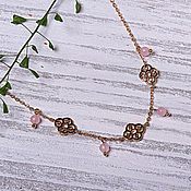 Украшения handmade. Livemaster - original item Beautiful necklace