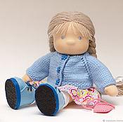 Куклы и игрушки handmade. Livemaster - original item Textile doll for Natalia, 31-33 cm. Handmade.