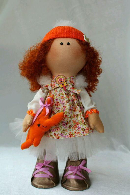 """Коллекционные куклы ручной работы. Ярмарка Мастеров - ручная работа. Купить Интерьерная кукла """"Весняшка"""". Handmade. Кукла ручной работы"""