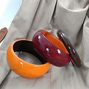 Украшения handmade. Livemaster - original item Bracelets jewelry set-wood Casual mini jewelry. Handmade.