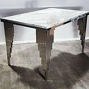 Для дома и интерьера handmade. Livemaster - original item Dining table. Natural marble