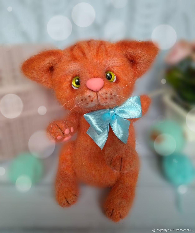 Котик Апельсинчик , 2 вариант, Мягкие игрушки, Светлый,  Фото №1
