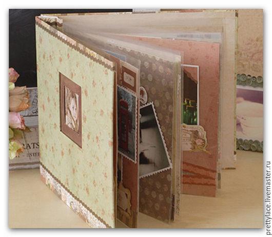 Открытки и скрапбукинг ручной работы. Ярмарка Мастеров - ручная работа. Купить Творческий набор для создания винтажного фотоальбома. Handmade.