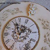 """Для дома и интерьера ручной работы. Ярмарка Мастеров - ручная работа Часы """"Ангел"""". Handmade."""