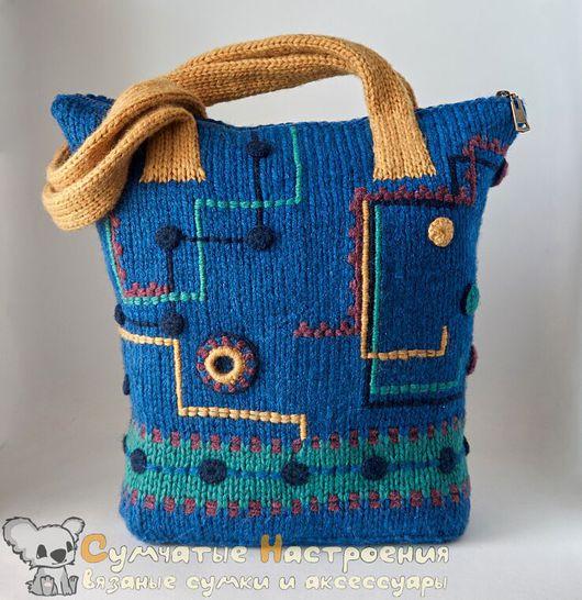 Женские сумки ручной работы. Ярмарка Мастеров - ручная работа. Купить тоут tote вязаная сумка URBAN NOISE арт 1 экземпляр. Handmade.