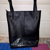 Classic Bag handmade. Livemaster - original item Bag leather model 21. Handmade.