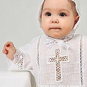 Работы для детей, handmade. Livemaster - original item Baptismal set of Vologda 212. Handmade.