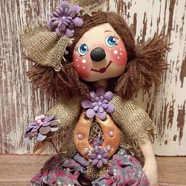 Куклы и игрушки ручной работы. Ярмарка Мастеров - ручная работа Домовушечка Аленка. Handmade.