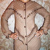 """Одежда ручной работы. Ярмарка Мастеров - ручная работа Жакет удлиненный """"Этно"""". Handmade."""