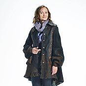 """Пальто ручной работы. Ярмарка Мастеров - ручная работа осенне зимнее пальто """" Лисий ход"""". Handmade."""