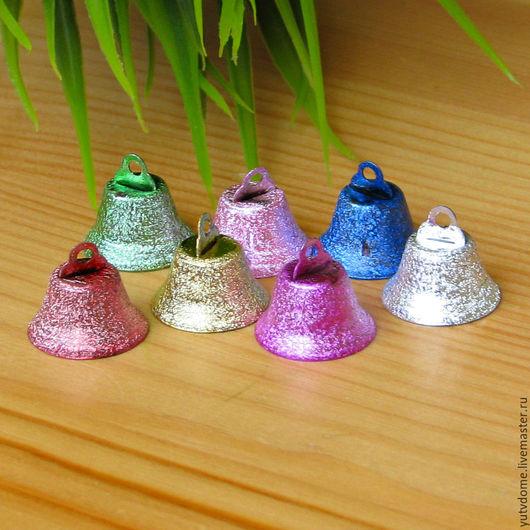 Куклы и игрушки ручной работы. Ярмарка Мастеров - ручная работа. Купить 0571 Колокольчик разноцветный 22 мм. Handmade. Комбинированный