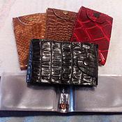 Сумки и аксессуары handmade. Livemaster - original item Business card holder made of genuine leather. Handmade.