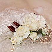 Свадебный салон ручной работы. Ярмарка Мастеров - ручная работа Свадебная тарелочка (арт. 0006). Handmade.