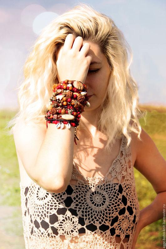 бохо браслет, бохо украшение, бохо, бохо стиль, бохо шик, богемный, хиппи, хиппи браслет, хиппи украшения, браслет, браслет в стиле бохо, браслет хиппи