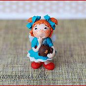 Куклы и игрушки ручной работы. Ярмарка Мастеров - ручная работа Феечка-статуэтка. Handmade.