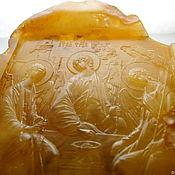 Картины и панно handmade. Livemaster - original item Holy Trinity amber thread R-228. Handmade.