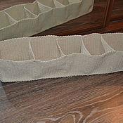 Для дома и интерьера ручной работы. Ярмарка Мастеров - ручная работа Короб вязанный для галстуков, платочков и др. мелочей. Handmade.
