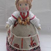 Для дома и интерьера ручной работы. Ярмарка Мастеров - ручная работа Кукла на чайник. Handmade.