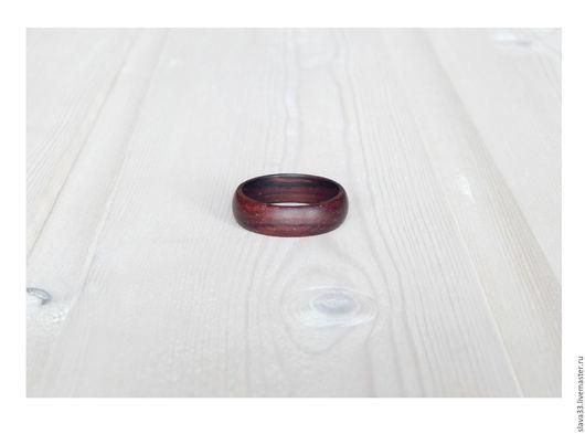 Кольца ручной работы. Ярмарка Мастеров - ручная работа. Купить Деревянное колечко.. Handmade. Кольцо из дерева, деревянное кольцо
