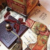 """Подарки ручной работы. Ярмарка Мастеров - ручная работа """"Ровесник Века"""" Приятные Рождествение безделицы. Handmade."""