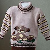 Комплекты одежды ручной работы. Ярмарка Мастеров - ручная работа Комплекты одежды: Костюм детский из шерсти Львенок на отдыхе. Handmade.