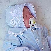 """Работы для детей, ручной работы. Ярмарка Мастеров - ручная работа Комплект для новорожденного """"мотылек"""".комплекты на выписку.. Handmade."""