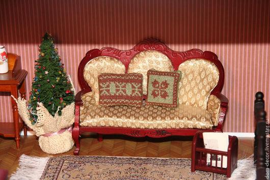 Миниатюра ручной работы. Ярмарка Мастеров - ручная работа. Купить подушки миниатюрные. Handmade. Коричневый, миниатюра, подушка, коллекция