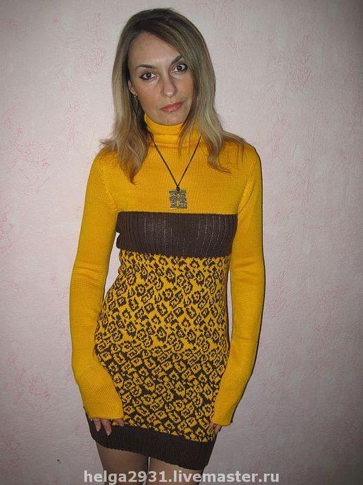 """Платья ручной работы. Ярмарка Мастеров - ручная работа. Купить Платье """"Леопард"""". Handmade. Платье"""
