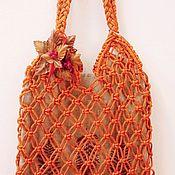 Сумки и аксессуары handmade. Livemaster - original item Bag-string bag