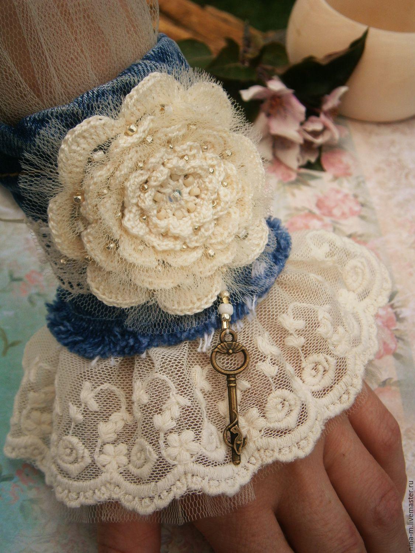Текстильный браслет бохо своими руками