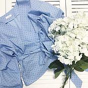 Одежда ручной работы. Ярмарка Мастеров - ручная работа Ультрамодная блуза со скидкой. Handmade.