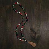 Украшения handmade. Livemaster - original item Rosary Navagraha. Handmade.