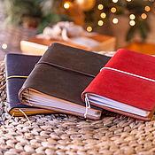 Канцелярские товары handmade. Livemaster - original item Moleskin notebook (21h13cm) 20 colors. Handmade.