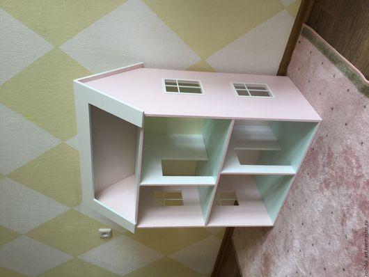 Кукольный дом ручной работы. Ярмарка Мастеров - ручная работа. Купить Кукольный домик дом для барби. Handmade. Комбинированный