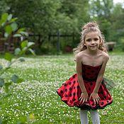 """Работы для детей, ручной работы. Ярмарка Мастеров - ручная работа Детское платье """" стиляги"""". Handmade."""