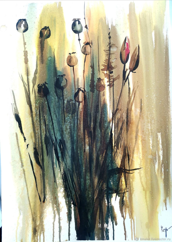 """""""Сухоцветы"""", Картины, Северодвинск,  Фото №1"""