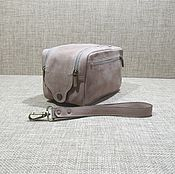 Сумки и аксессуары handmade. Livemaster - original item Men`s travel leather travel bag beige. Handmade.