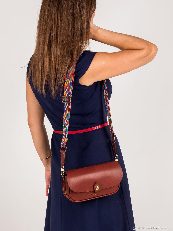 Кожаная сумка / клатч с двумя сменными ремешками, Сумка через плечо, Санкт-Петербург,  Фото №1